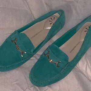 Isaac Mizrahi Womans Moccasin Shoes